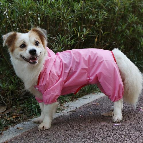 Abrigo impermeable, pink
