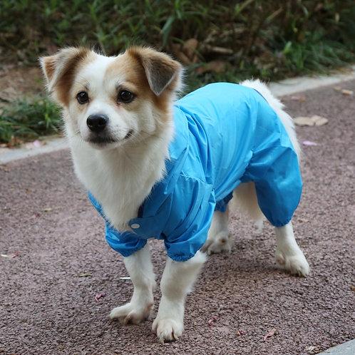 Abrigo impermeable, blue