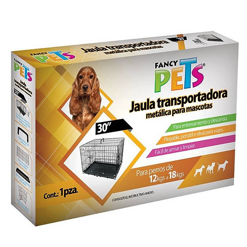 "Jaula plegable 30"" FANCY PETS"