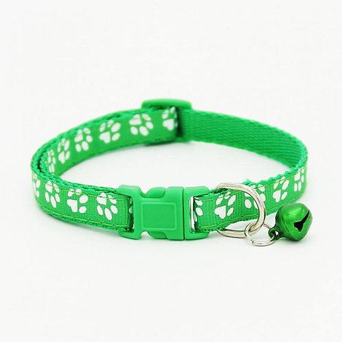 Collar Sweet Paws verde