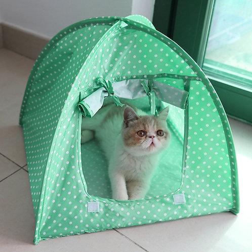 Tienda de campaña, verde