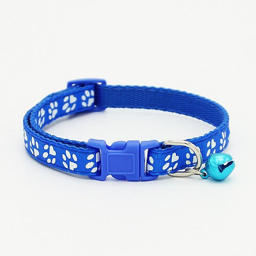 Collar Sweet Paws azul