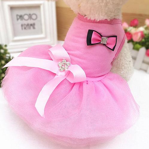 Vestido de fiesta, pink