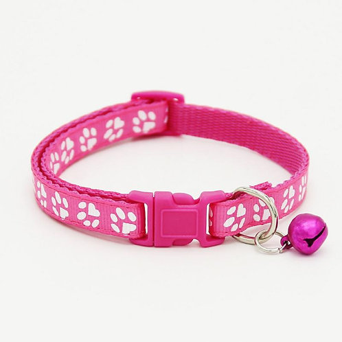 Collar Sweet Paws rosa