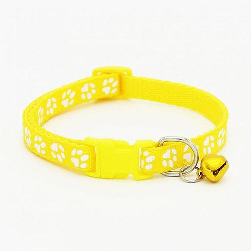 Collar Sweet Paws amarillo