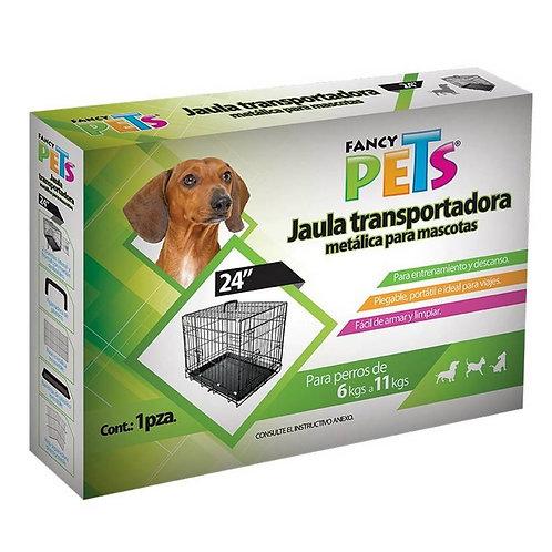 "Jaula plegable 24"" FANCY PETS"