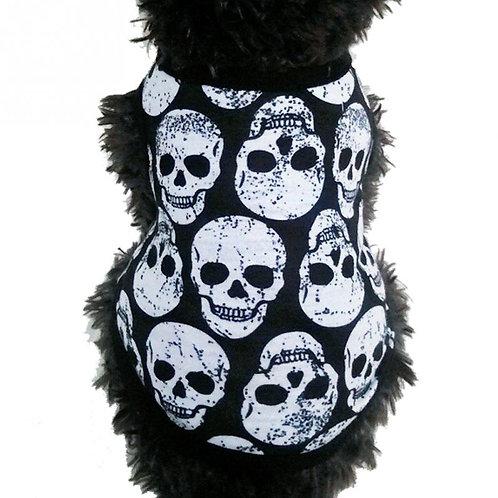 "Playera ""Skull"" color negro"