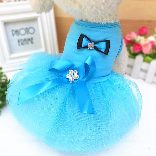 Vestido de fiesta, blue