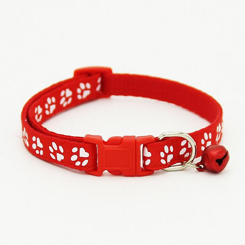 Collar Sweet Paws rojo