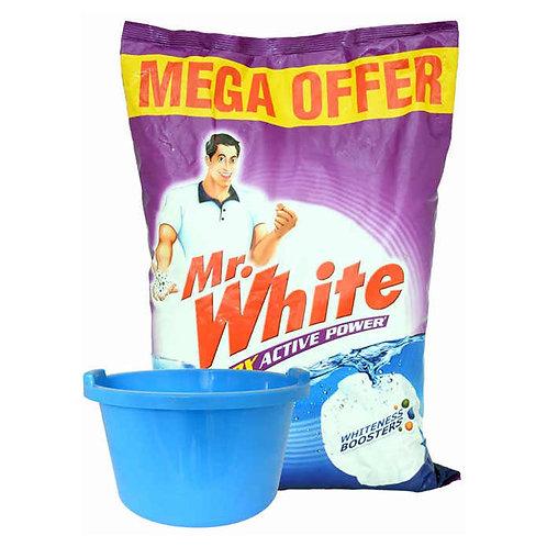 Mr. White Detergent Powder 5 Kg Offer