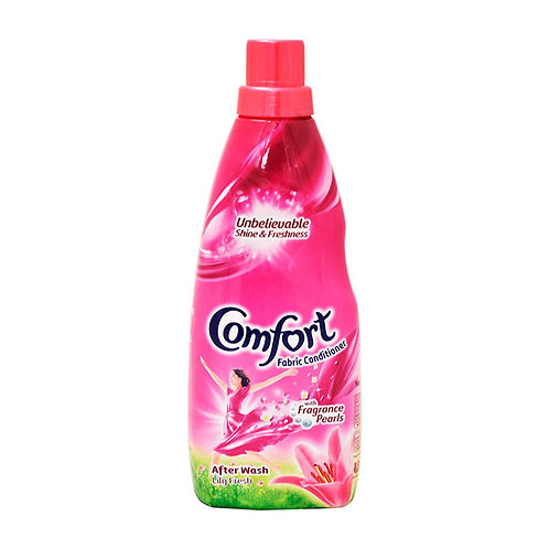 Comfort After Wash Lily Fresh Fabric Conditioner 860ml