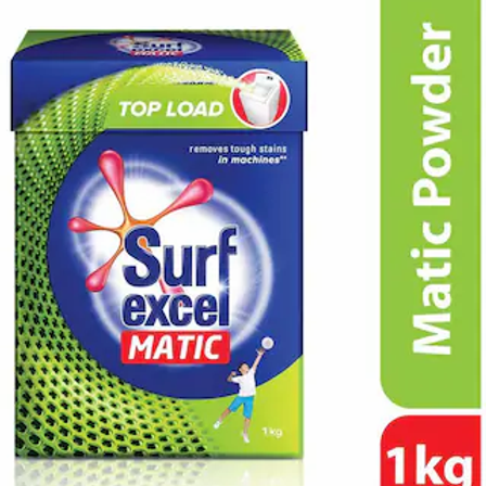 Surf Excel Matic Top Load Detergent Powder 1Kg