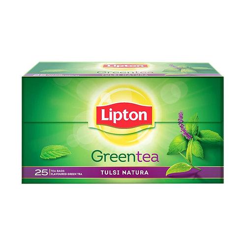 Lipton Green Tea-  Tulsi Natura : 25 Tea bags