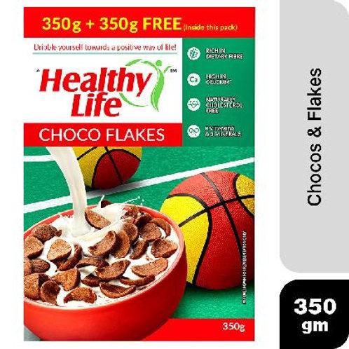 HealthyLife Choco Flakes 350g+350g