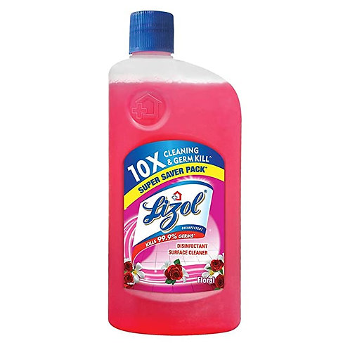 Lizol Disinfectant Surface Cleaner Floral 500 ml