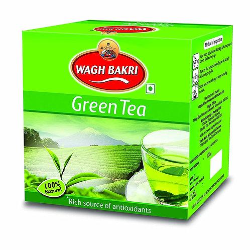 Wagh Bakri Green Tea Leaf 100 gms