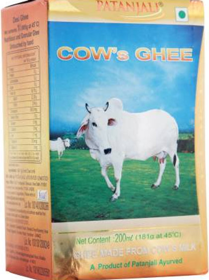 Patanjali Cow Ghee 200ml