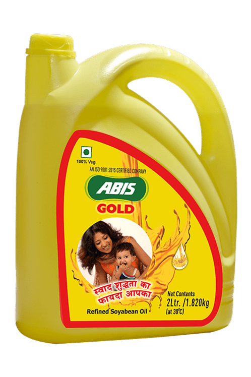 Abis Gold Soyabean Oil 5L Jar