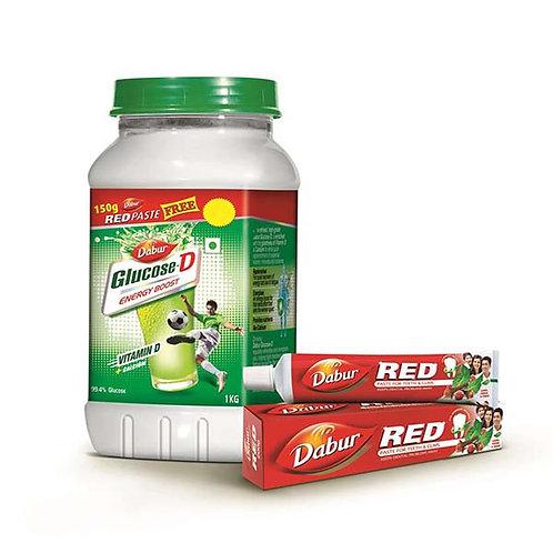 Dabur Glucose-D Powder 1 Kg (Pet Jar)
