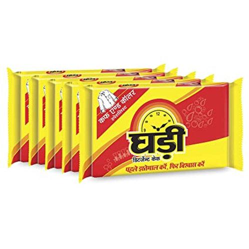 Ghadi Detergent Bar  ( Pack Of 5 Pieces, 5*5 )