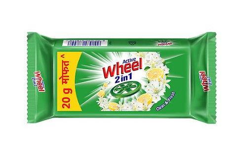 Wheel Detergent Bar  ( Pack Of 5 Pieces, 5*5 )