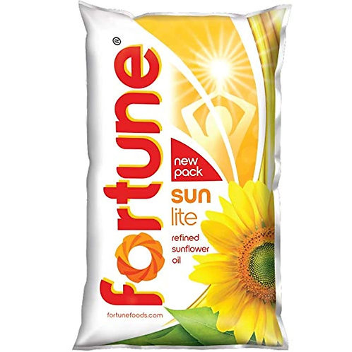 Fortune Sunlite Refined Sunflower Oil 1L