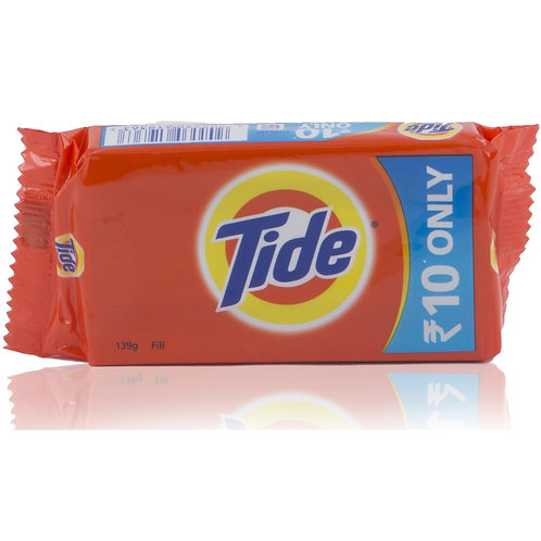 Tide Detergent Bar  ( Pack Of 5 Pieces, 10*5 )
