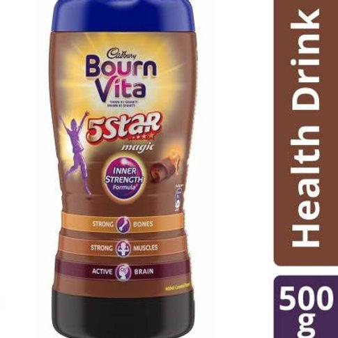 Cadbury Bournvita 5StarJar 500gms