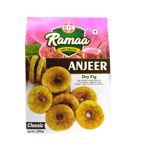 Ramaa Dry Fig ( Anjeer ) 250 gms