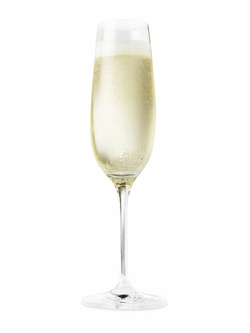 Flûte à champagne en verre