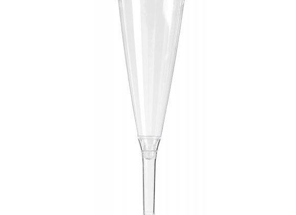 10 flûtes à champagne