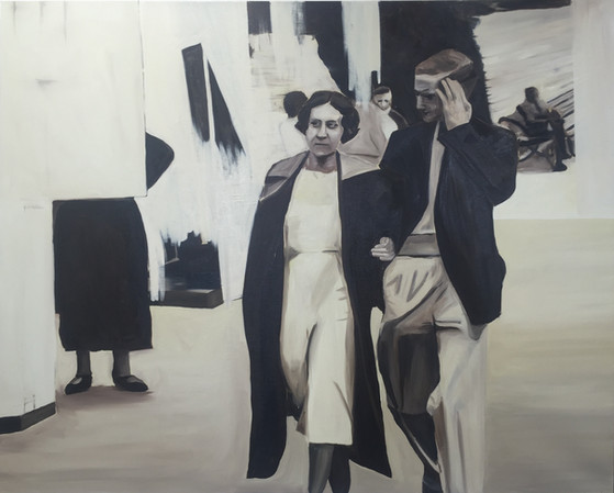 Unidentified, oil on canvas, 120 x 150 cm