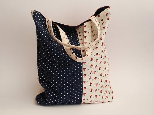 Tasche jede Seite andersfarbig