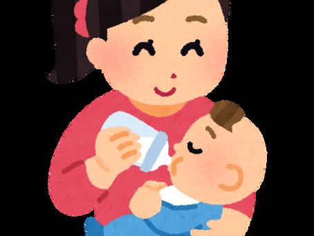 赤ちゃんの溢乳