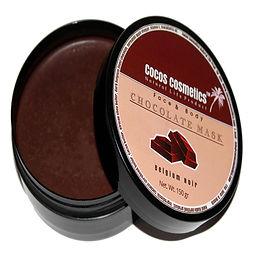 шоколадная маска для лица бельгийский шоколад cocos cosmetics