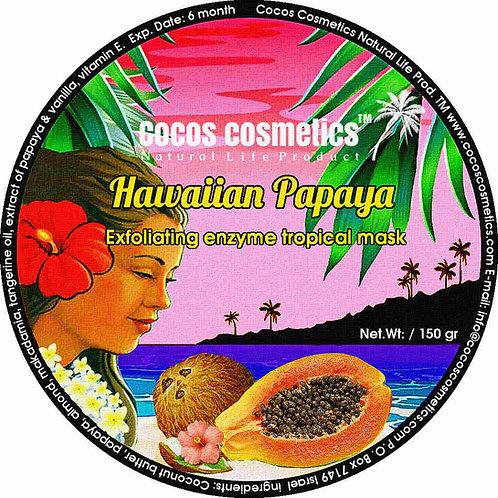 натуральная-маска-для-лица-кокосовое-масло-гавайская-папайя-cocos-cosmetics