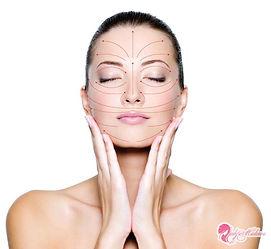 массаж лица как убрать морщины под глазами на лице носогубки