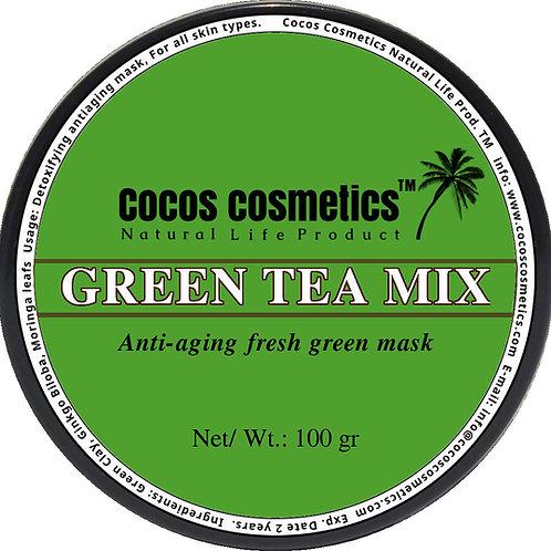 зеленая-глина -глиняная-маска-для-лица-зеленый-чай-cocos-cosmetics