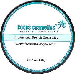 зеленая глина маска для лица cocos cosmetics
