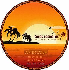 кофейный скраб для лица и тела кокосовое масло кофе арабика cocos cosmetics