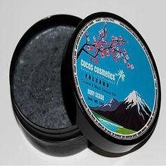 скраб с черной вулканической солью кокосовое масло cocos cosmetics