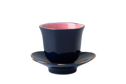 Oriental Teacup & Saucer Set