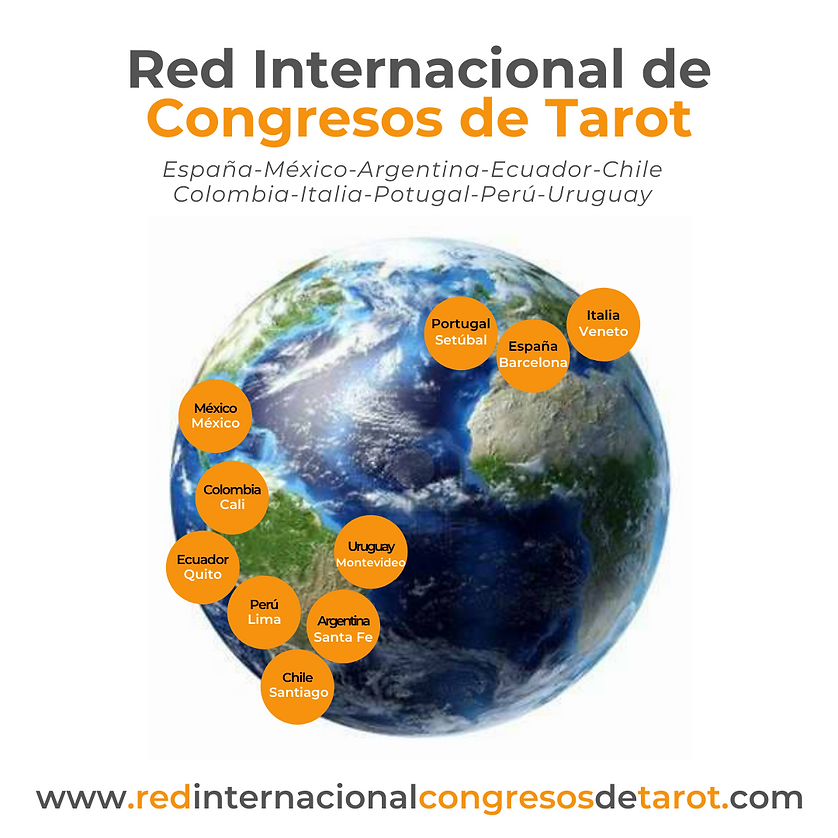 Red internacional de congresos de Tarot.