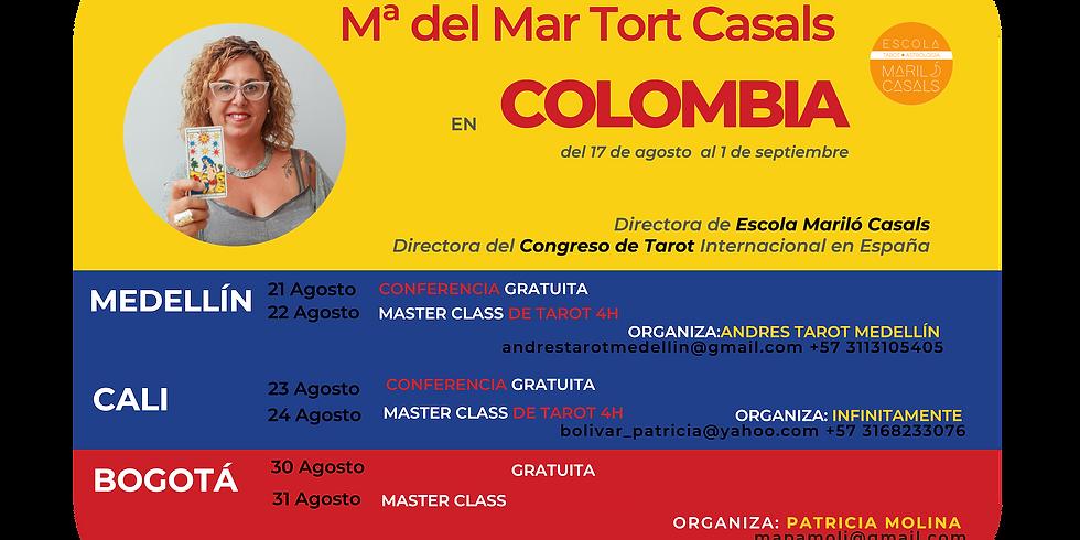 Mª del Mar Tort en Colombia