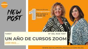 ¡1 AÑO DE CURSOS ZOOM!