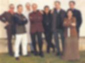 Mariló Casals con Andreu Buenafuente y el equipo del Terrat