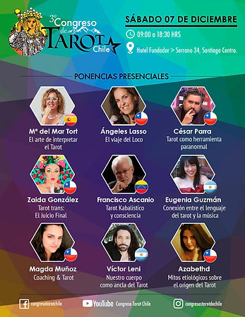 3er Congreso de Tarot en Chile_2019 (act