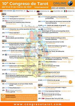 programa 10º Congreso de Tarot Internaci