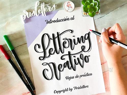 Lettering Creativo Hojas de Practicas