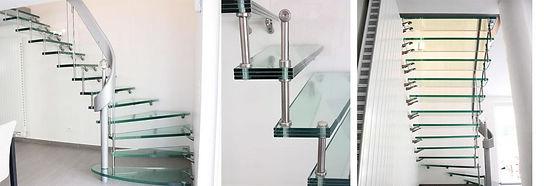 @escalier e verre